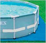Подстилка для каркасного бассейна Intex 28736