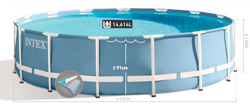 Купить каркасный бассейн Intex 28734