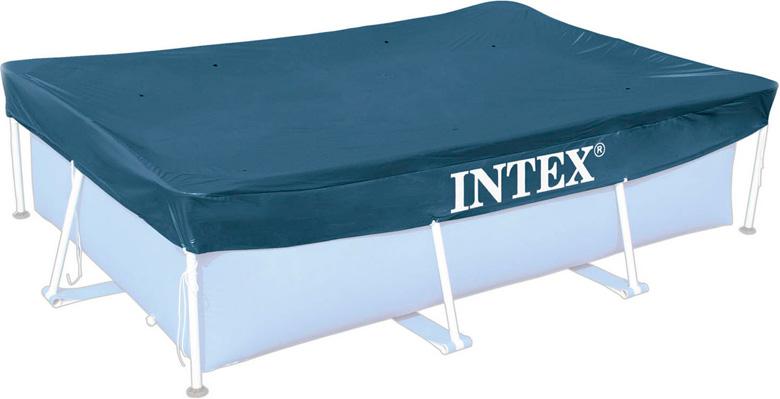Защитный тент для прямоугольного бассейна 300 x 200 см Intex 28038 купить в Минске