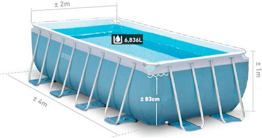 Купить каркасный бассейн Intex 28316