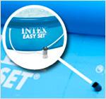 Подключение фильтра к бассейну Intex