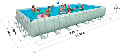 Купить в Минске каркасный бассейн Intex 28376